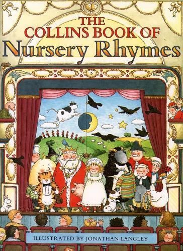 The Collins Book of Nursery Rhymes (Hardback)
