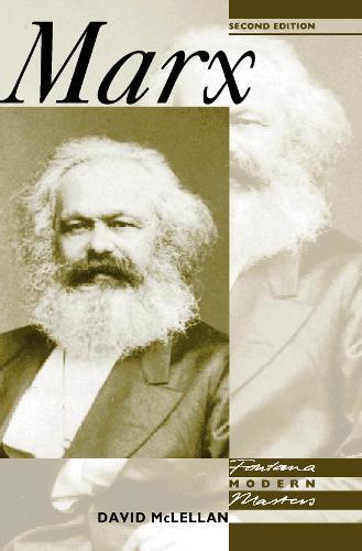 Marx - Fontana Modern Masters (Paperback)