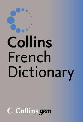 French Dictionary - Collins GEM (Paperback)