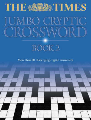 "The ""Times"" Jumbo Cryptic Crossword: Bk. 2 (Paperback)"