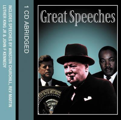 Great Speeches (CD-Audio)