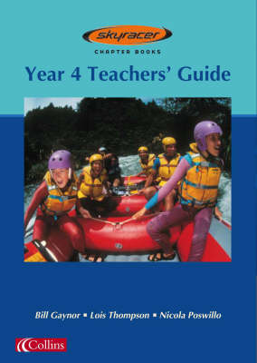 Skyracer Blue - Year 4 Teacher's Guide: Blue Book - Skyracer Blue (Spiral bound)