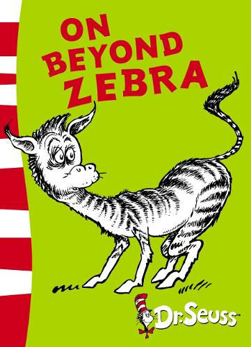 On Beyond Zebra: Yellow Back Book - Dr. Seuss - Yellow Back Book (Paperback)