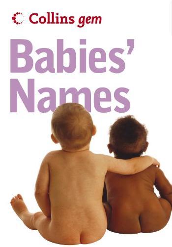 Babies' Names - Collins Gem (Paperback)