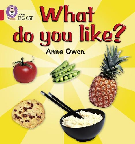 What Do You Like?: Band 02b/Red B - Collins Big Cat (Paperback)