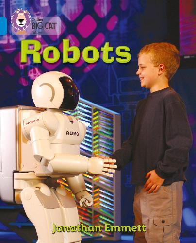 Robots: Band 04/Blue - Collins Big Cat (Paperback)
