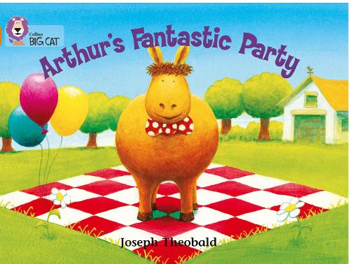 Arthur's Fantastic Party: Band 06/Orange - Collins Big Cat (Paperback)