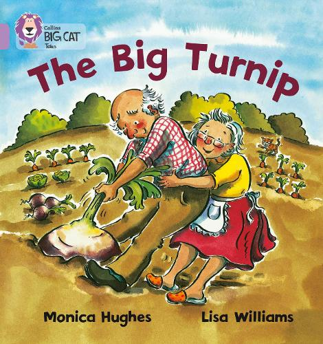 The Big Turnip: Band 00/Lilac - Collins Big Cat (Paperback)