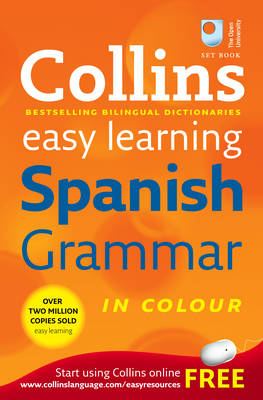 Collins Easy Learning Spanish Grammar - Collins Easy Learning Dictionaries (Paperback)