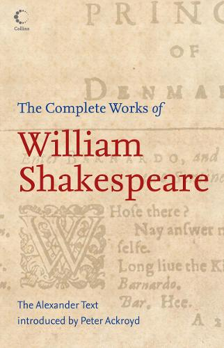 Collins Complete Works Of Shakespeare (Paperback)