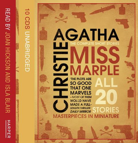 Miss Marple Complete Short Stories Gift Set (CD-Audio)