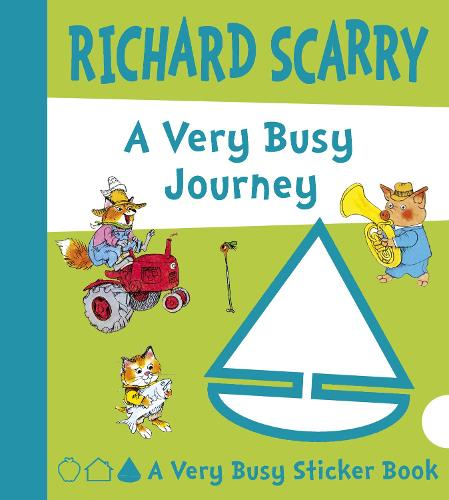 A Very Busy Journey (Board book)