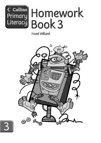 Homework Book 3 - Collins Primary Literacy (Paperback)
