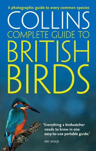 British Birds: A Photographic Guide to Every Common Species - Collins Complete Guide (Paperback)