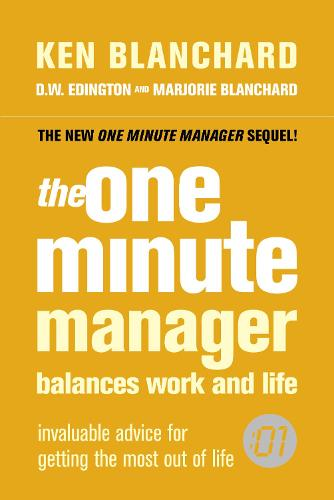 The One Minute Manager Balances Work and Life (Paperback)