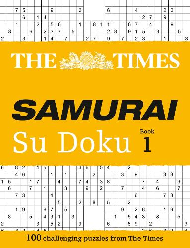 The Times Samurai Su Doku: 100 Extreme Puzzles for the Fearless Su Doku Warrior (Paperback)