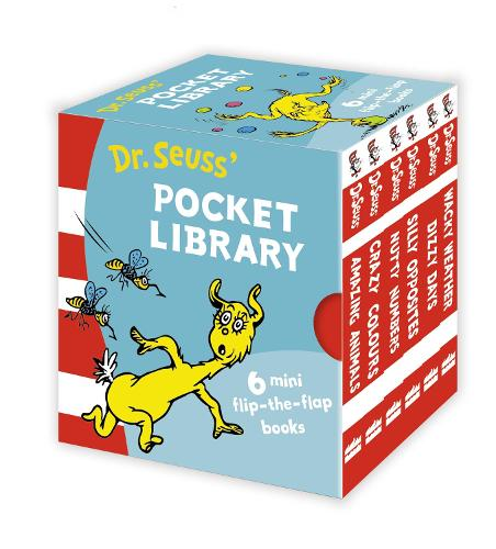 Dr. Seuss Lift-the-Flap Pocket Library - Dr. Seuss - A Lift-the-Flap Book (Board book)