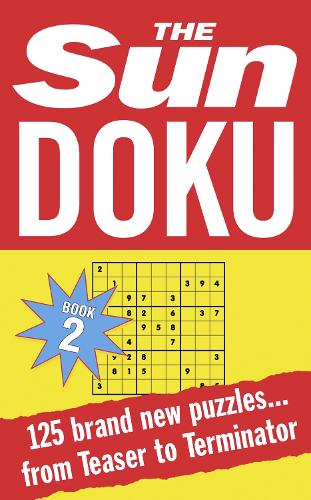 Sun Doku Book 2: 125 Puzzles from Teaser to Terminator (Paperback)
