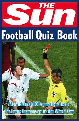 The Sun Football Quiz Book (Paperback)