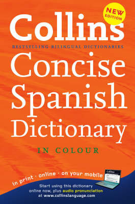 Collins Spanish Concise Dictionary - Collins Concise (Hardback)
