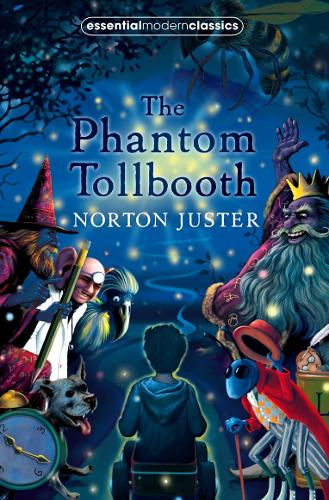 Cover of the book, The Phantom Tollbooth.