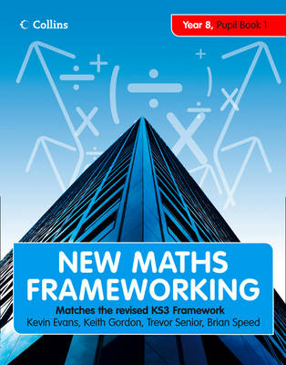 Year 8 Pupil Book 1 (Levels 4-5) - New Maths Frameworking No. 18 (Paperback)