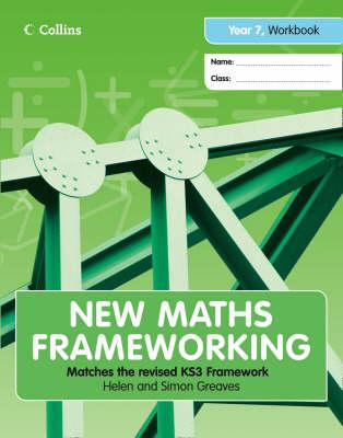 Year 7 Workbook (Levels 2-3) - New Maths Frameworking No. 4 (Paperback)