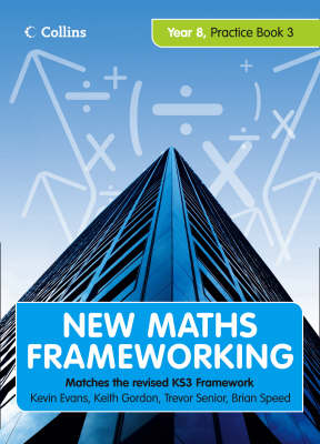 Year 8 Practice Book 3 (Levels 6-7) - New Maths Frameworking No. 24 (Paperback)