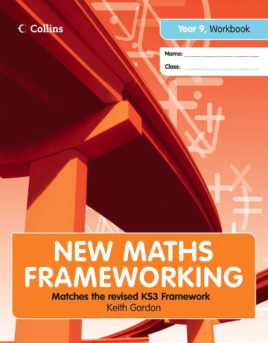 Year 9 Workbook (Levels 3-4) - New Maths Frameworking (Paperback)