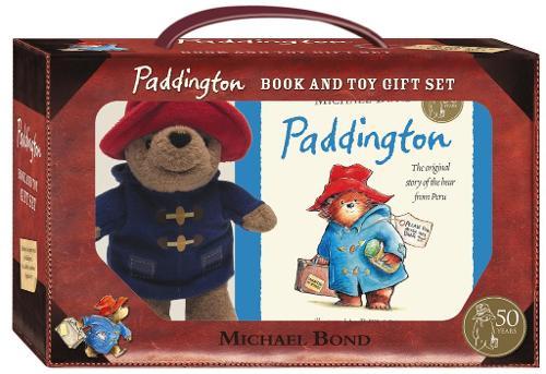 Paddington Book and Toy Gift Set