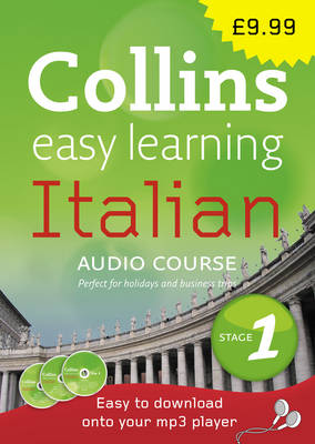Italian: Stage 1 - Collins Easy Learning Audio Course (CD-Audio)