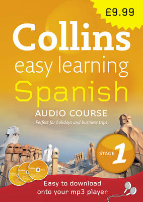 Spanish: Stage 1 - Collins Easy Learning Audio Course (CD-Audio)