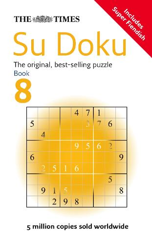 The Times Su Doku Book 8: 150 Challenging Puzzles from the Times (Paperback)