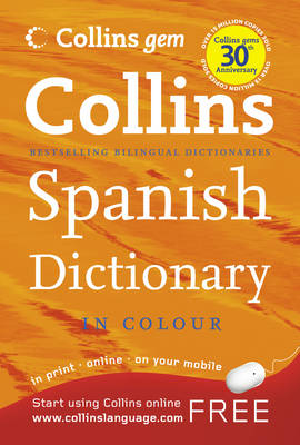 Spanish Dictionary - Collins GEM (Paperback)