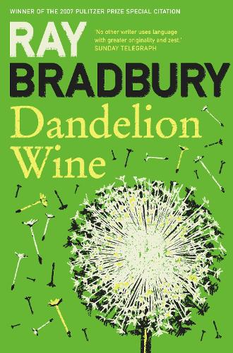 Cover of the book, Dandelion Wine.
