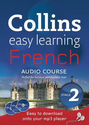 French: Level 2: Stage 2 - Collins Easy Learning Audio Course (CD-Audio)