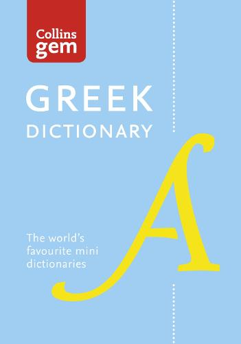 Greek Gem Dictionary - Collins Gem (Paperback)