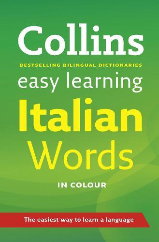 Easy Learning Italian Words - Collins Easy Learning Italian (Paperback)