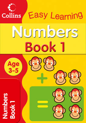 Numbers Age 3-5: Book 1 - Collins Easy Learning Age 3-5 (Paperback)