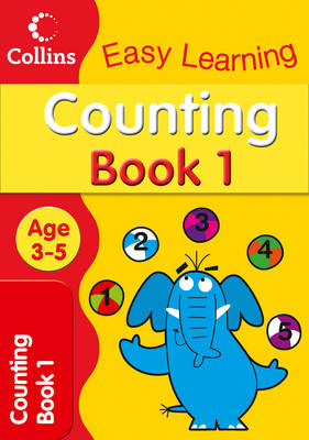 Counting Age 3-5: Book 1 - Collins Easy Learning Age 3-5 (Paperback)