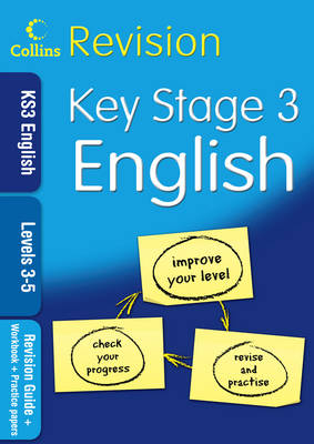 KS3 English L3-5: Revision Guide + Workbook + Practice Papers - Collins KS3 Revision (Paperback)