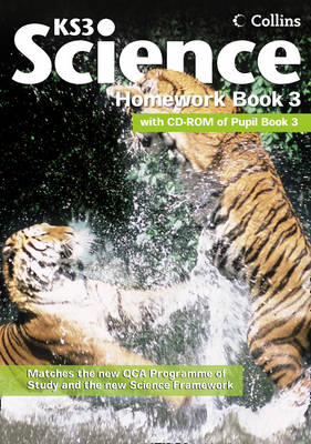 Collins KS3 Science: Homework Book 3 - Collins KS3 Science (Paperback)