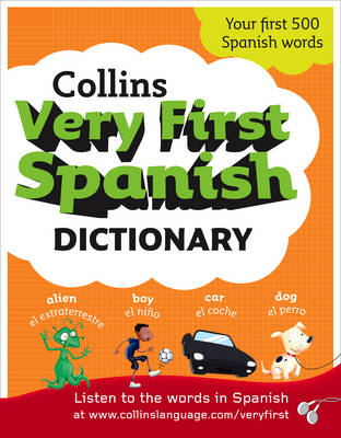 Collins Very First Spanish Dictionary - Collins Primary Dictionaries (Paperback)
