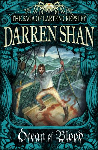 Ocean of Blood - The Saga of Larten Crepsley 2 (Paperback)