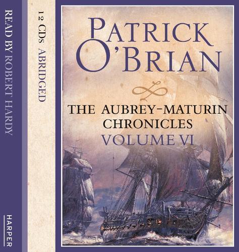 Volume Six, The Wine-Dark Sea/ The Commodore / The Yellow Admiral - The Aubrey-Maturin Chronicles (CD-Audio)