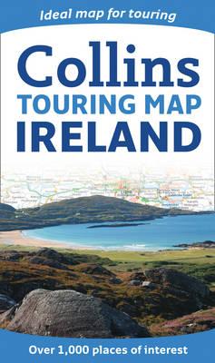 Ireland Touring Map (Sheet map, folded)