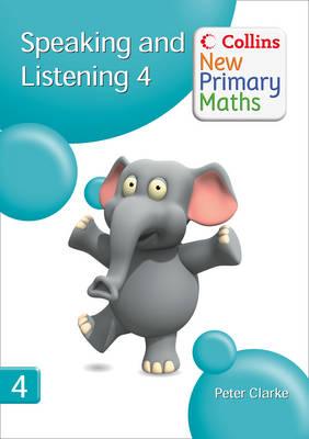 Speaking and Listening 4 - Collins New Primary Maths (Spiral bound)