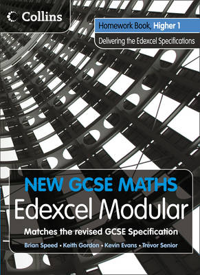 Homework Book Higher 1: Edexcel Modular (B) - New GCSE Maths (Paperback)