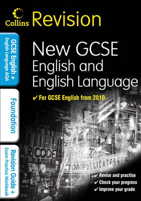 Collins Revision - Gcse English & English Language For Aqa: Foundation (Paperback)