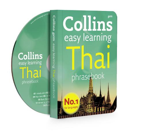 Collins Easy Learning Thai Phrasebook and CD Pack - Collins Gem